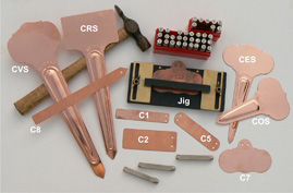 Metal Labels - Copper tags
